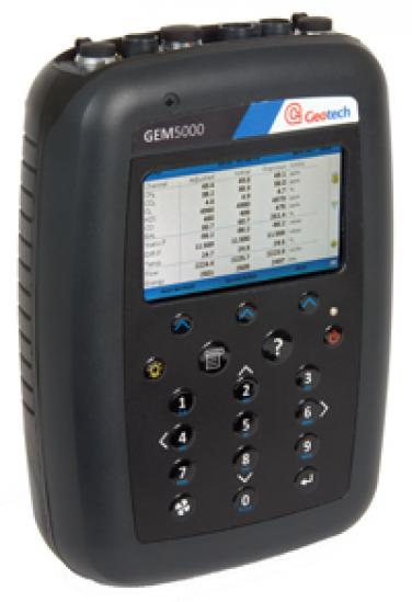 GEM5000 Gas Extractie Monitor %CH4/CO2 en O2